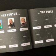 schoolfotoboek peuter puber