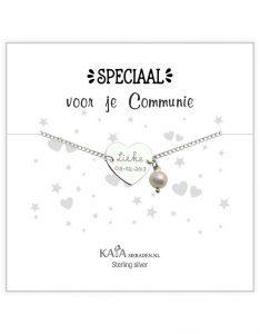 communie armband met naam