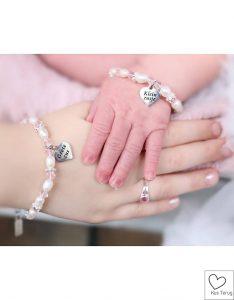 armbandje voor een grote en kleine zus