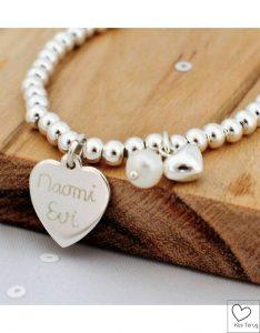 armband met de naam van je meisje