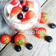 koolhydraatarm recept met aardbeien