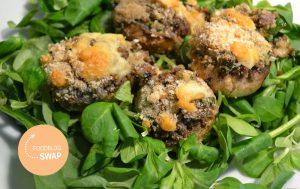 champignons op de BBQ