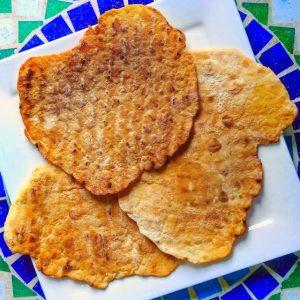 naanbrood van de BBQ
