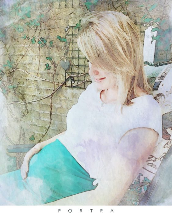 zwangerschapsblog van Bo, auw ik ben zwanger