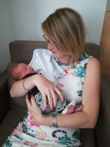 zwangerschapsblog van Bo week 6 V