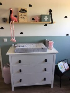 babykamer van kusterug