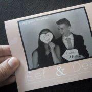 trouwblog de trouwkaart van Eva III