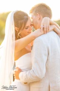 hoe ziet de trouwjurk eruit trouwblog eva bruidspaar samen