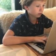 online typecursus voor kinderen Tijn