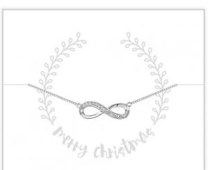 cadeaudoosje merry christmas infinity