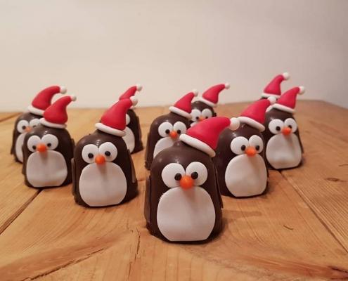 kersthapjes op school pinguin kusterug