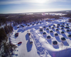 Arctic snow hotel Rovaniemi