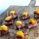 hapje met kip bacon en mango vrouwwatbenjemooi