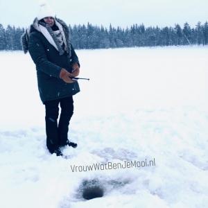 ijsvissen in lapland