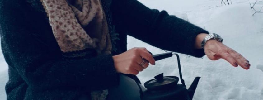 lapland in de winter vrouwwatbenjemooi