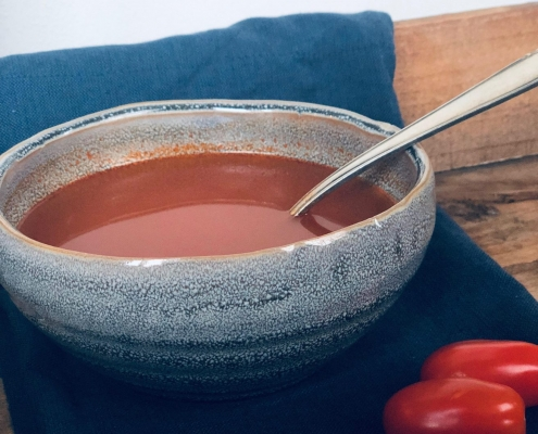 tomatensoep koolhydraatarm