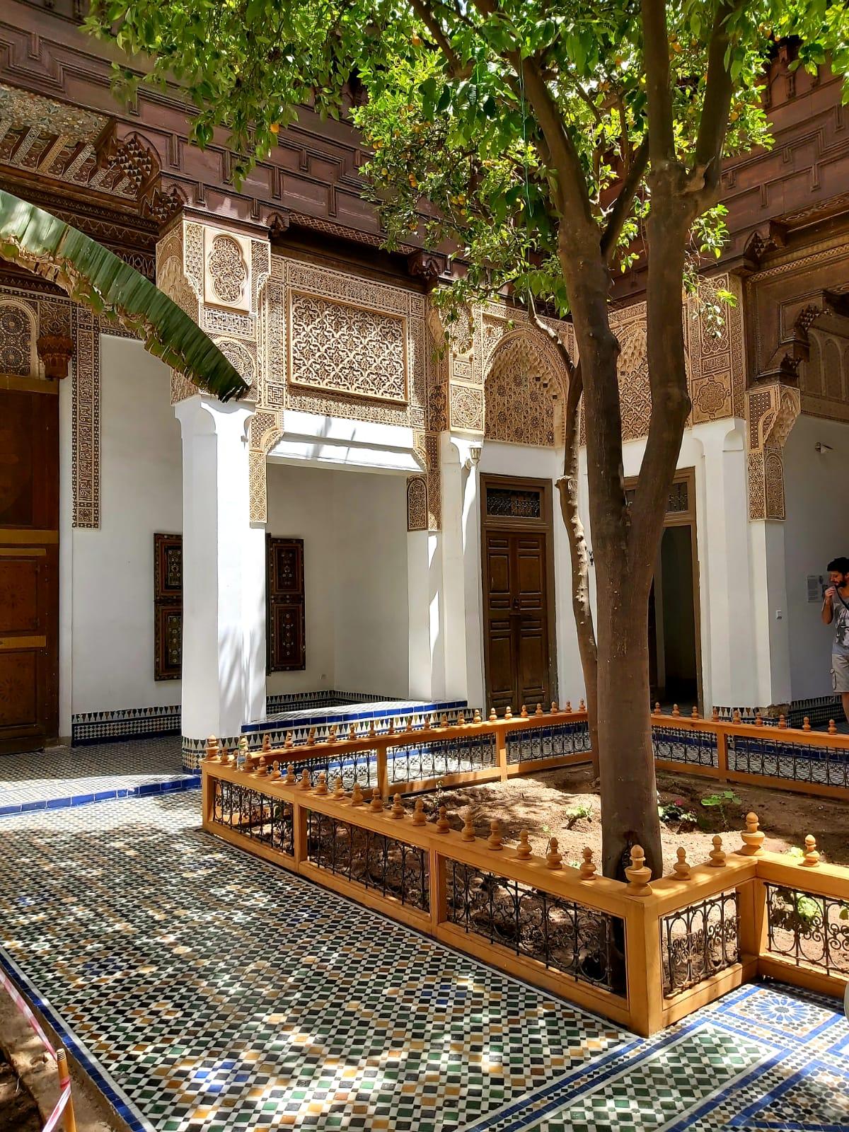 Marrakech met tieners Bahia Palace