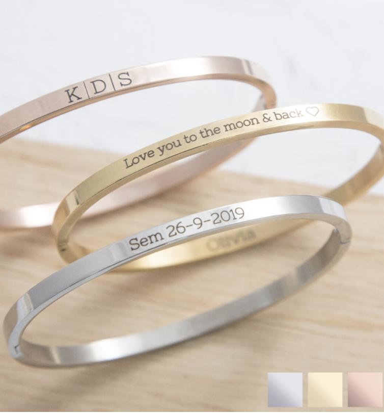 baby armband met naam
