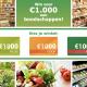 gratis shoppen in een supermarkt